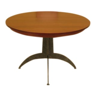Ethan Allen Round Cherry Dining Table