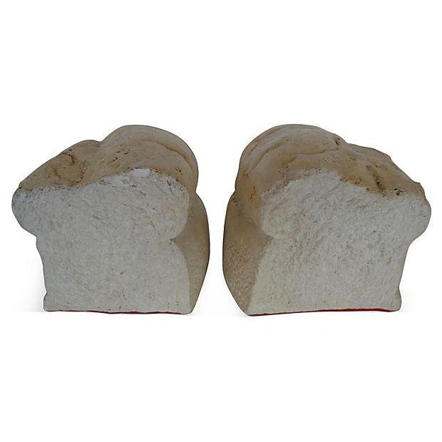 Loaf of Bread Bookends - A Pair - Image 3 of 5