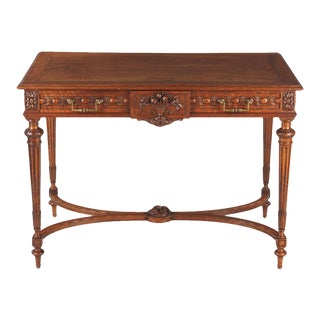 Louis XVI Style Cherrywood Desk, France Early 1900s