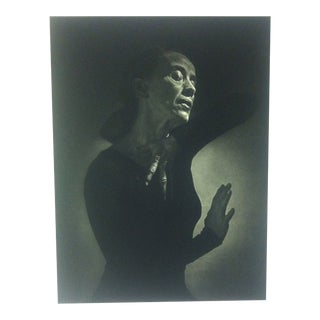 "Black & White Print on Paper, ""Martha Graham"" by Yousuf Karsh, 1967 For Sale"