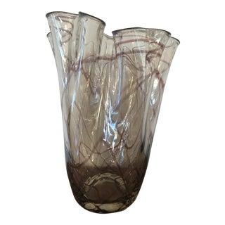Murano Style Vase