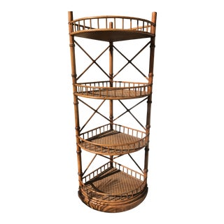 Bamboo Etagere For Sale