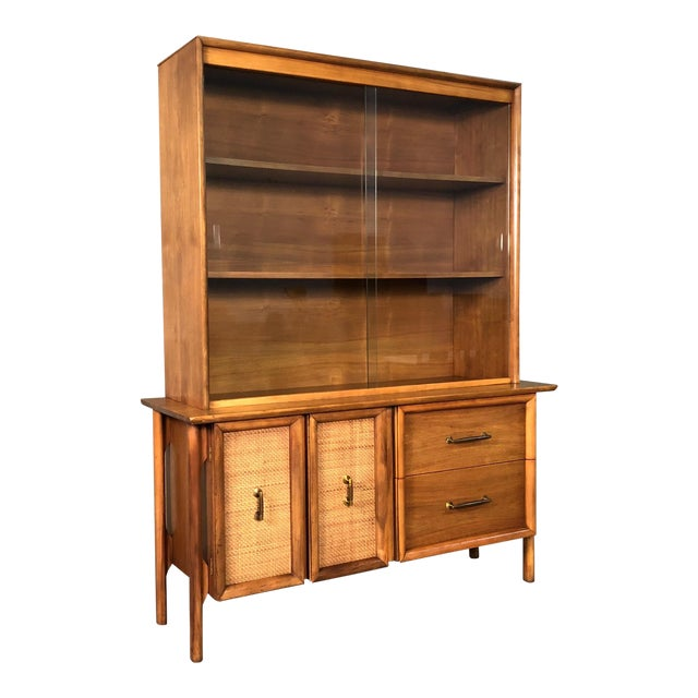 Mid-Century Modern China Cabinet / Bookcase / Display Case - Image 1 of 11