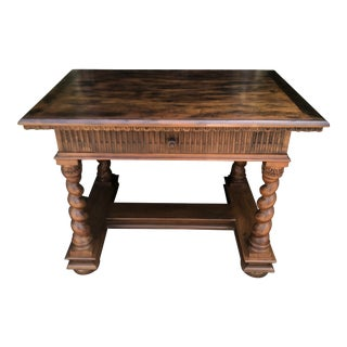 Charles Pollock William Switzer Spanish Colonial Work Table Desk For Sale