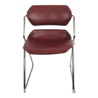 Vintage Mid Century Acton Stacker Chair American Seating Company For Sale