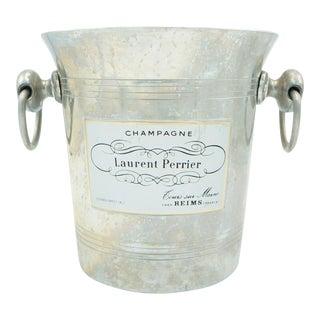 1970s Vintage Laurent Perrier Silver Champagne Bucket For Sale