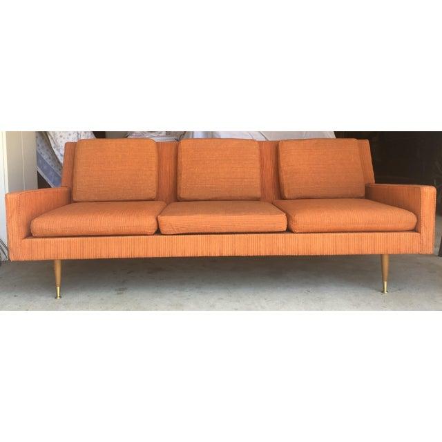 Vintage Mid Century Danish Modern Sofa - Image 8 of 10