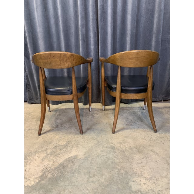 Mid-Century Modern Boling Chair Co. Sculptural Arm Chairs - a Pair For Sale In Charlotte - Image 6 of 12