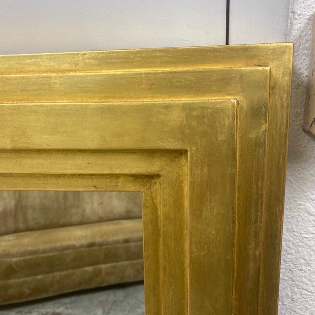 City C Studio Custom Gold Gilt Tiered Framed Mirror For Sale - Image 4 of 10
