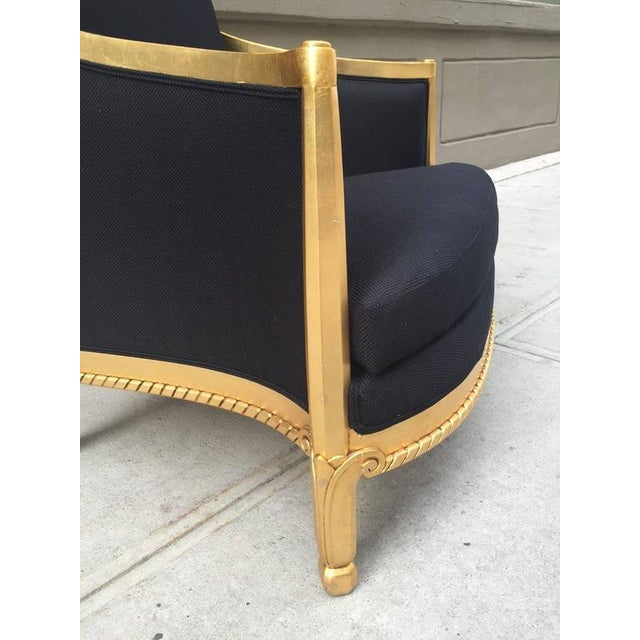 Italian Giltwood Sculptural Lounge Chair For Sale In New York - Image 6 of 9