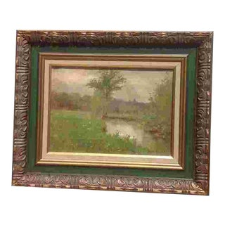 19th C. British Oil Painting For Sale