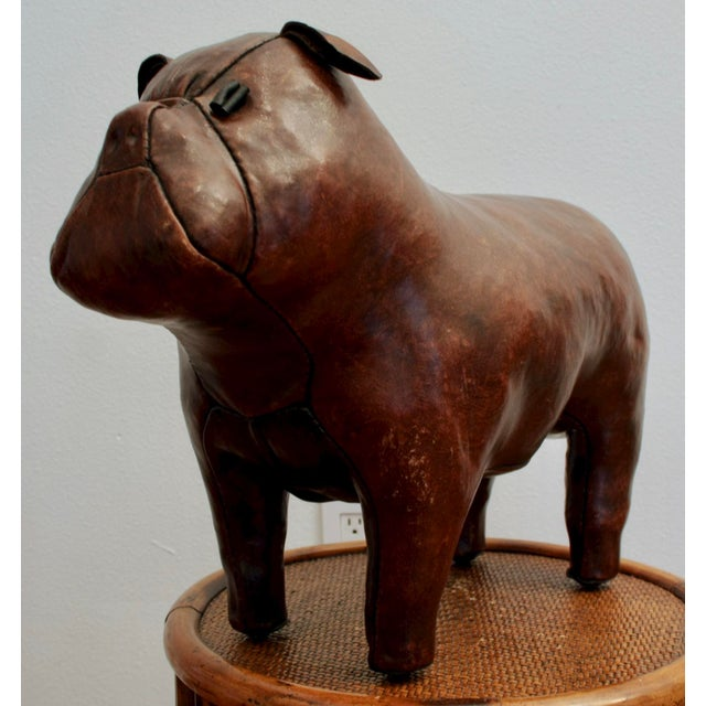 Abercrombie and Fitch Dimitri Omersa Leather Bulldog For Sale - Image 12 of 12