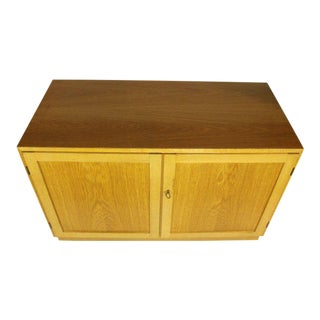 Danish Modern Oak Cabinet