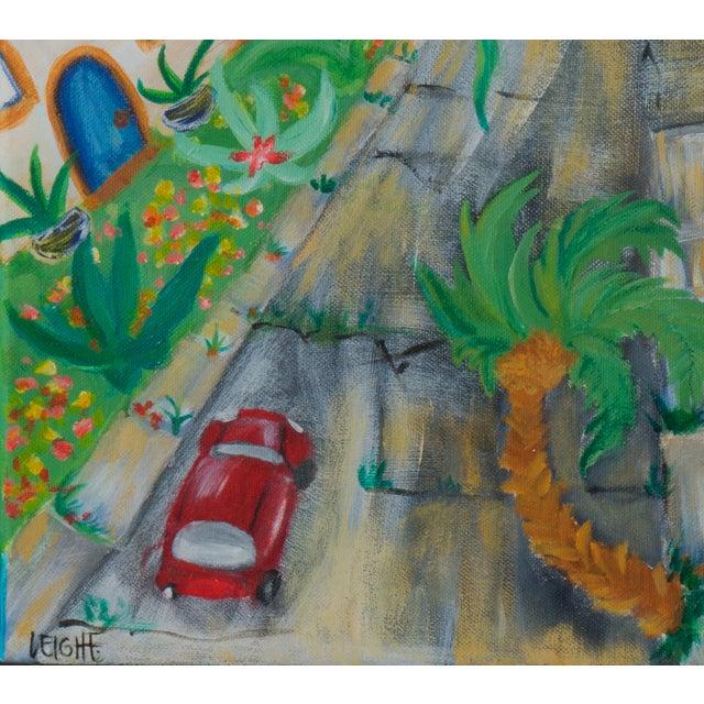 West Side of Santa Cruz Acrylic Painting - Image 5 of 5