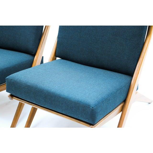 Pair Folke Ohlsson Dux Scissor Lounge Chair - Image 6 of 10