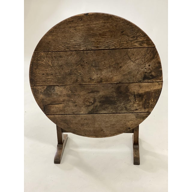 18th C. French Vendage Table For Sale - Image 9 of 11