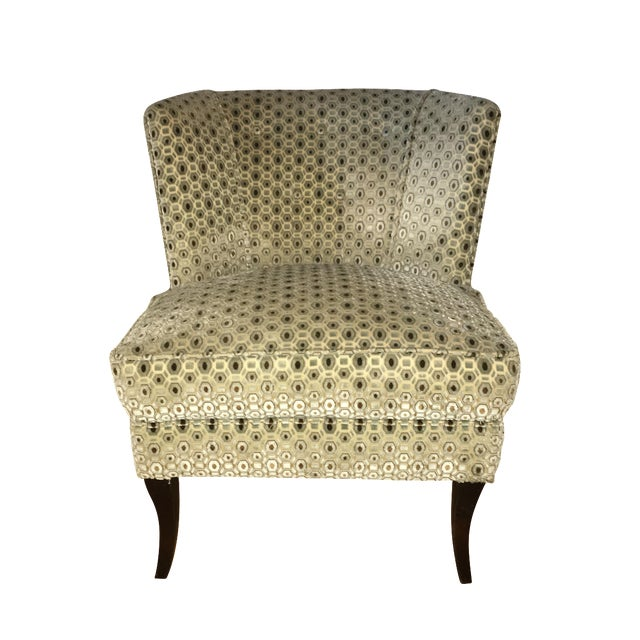 Vintage Tommi Parzinger Upholstered Chair For Sale