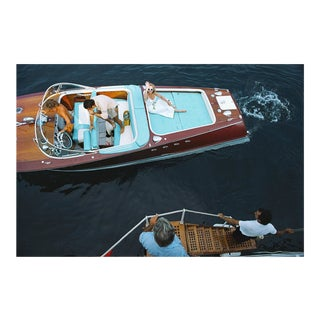 """Slim Aarons, """"Monte Carlo,"""" January 1, 1975 Getty Images Gallery Framed Art Print For Sale"""