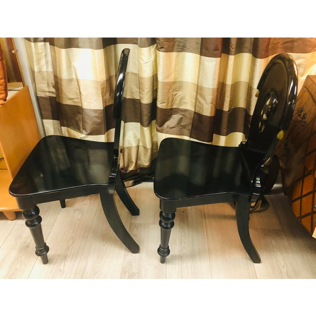 1920s James Shoolbred Furniture London Chairs - a Pair For Sale - Image 5 of 11