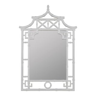 Tina Mirror, Glossy White For Sale