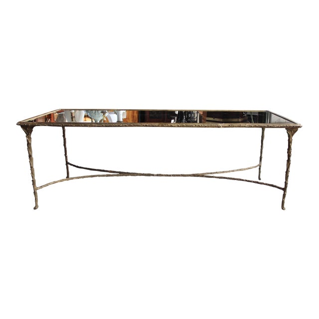 Maison Bagues Style Bronze Cocktail Table - Image 1 of 6
