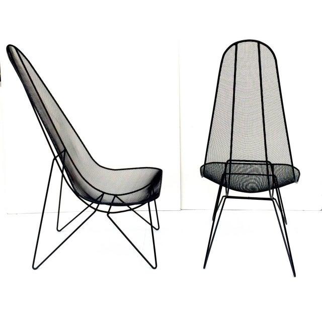 Pair of Sol Bloom Scoop Chairs - Image 5 of 10