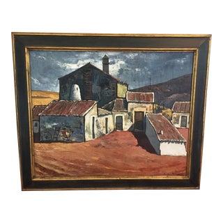Original Spanish Oil Painting