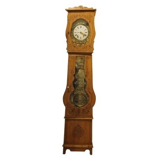 19th Century Antique Comtoise Clock For Sale
