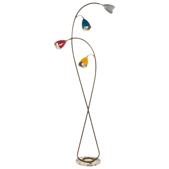 Italian Floor Lamp in the Style of Arredoluce - Image 1 of 10