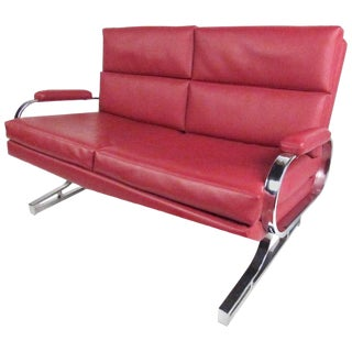 Stylish Contemporary Modern Loveseat For Sale