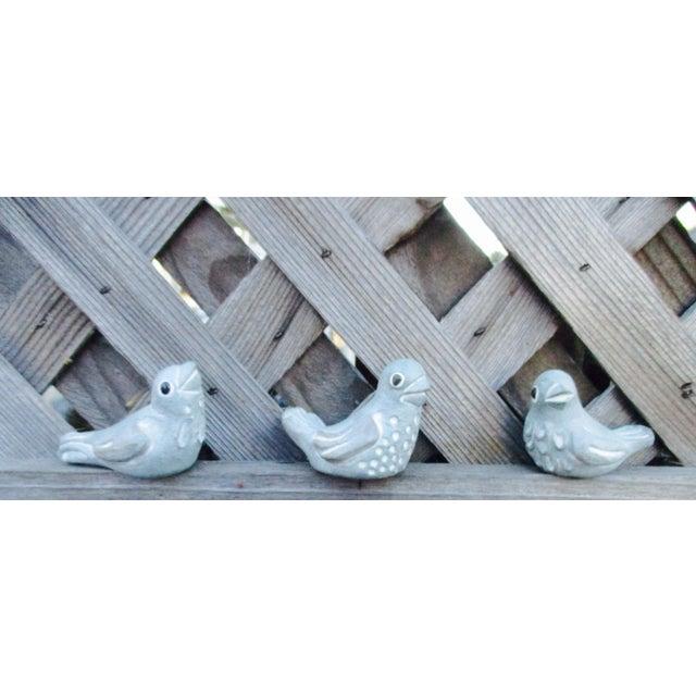 Cottage Isabel Bloom Love Birds - Set of 3 For Sale - Image 3 of 11