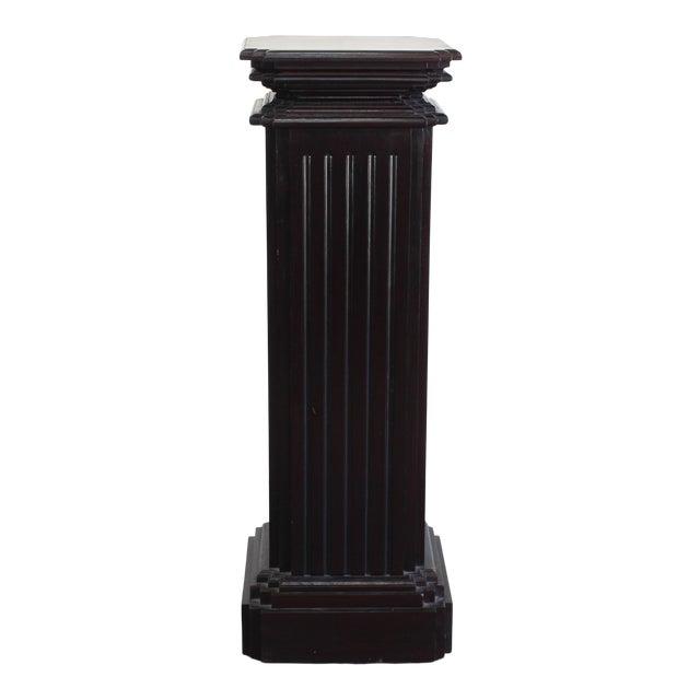 Mid Century Pedestal Base For Sale