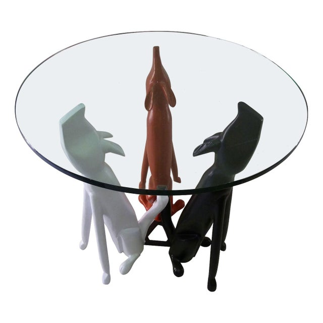 Monteverdi Young Dog Trio Base Table in Aluminum - Image 1 of 7