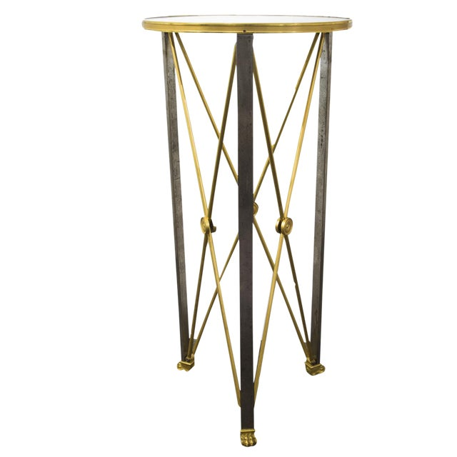 Brass Stand in Empire Style by Maison Jansen - Circa 1960's For Sale