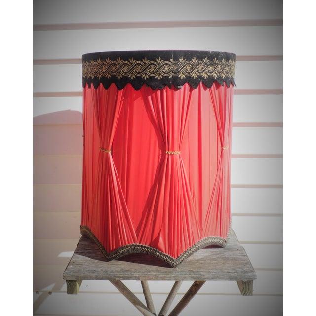 Vintage Drum Lamp Shade - Image 2 of 5