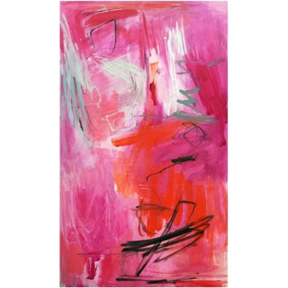"""""""Sailor's Delight"""" by Trixie Pitts Large Abstract Oil Painting For Sale"""