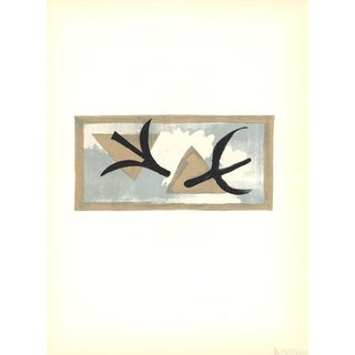 Georges Braque, En Vol, 1959 Lithograph