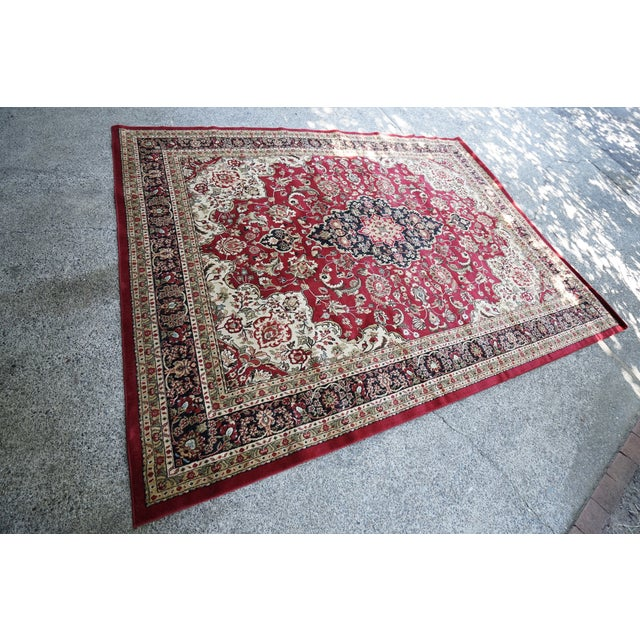 Persian Synthetic Rug - 9' x 12' - Image 2 of 4