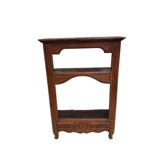 Antique French Rustic Bookcase For Sale