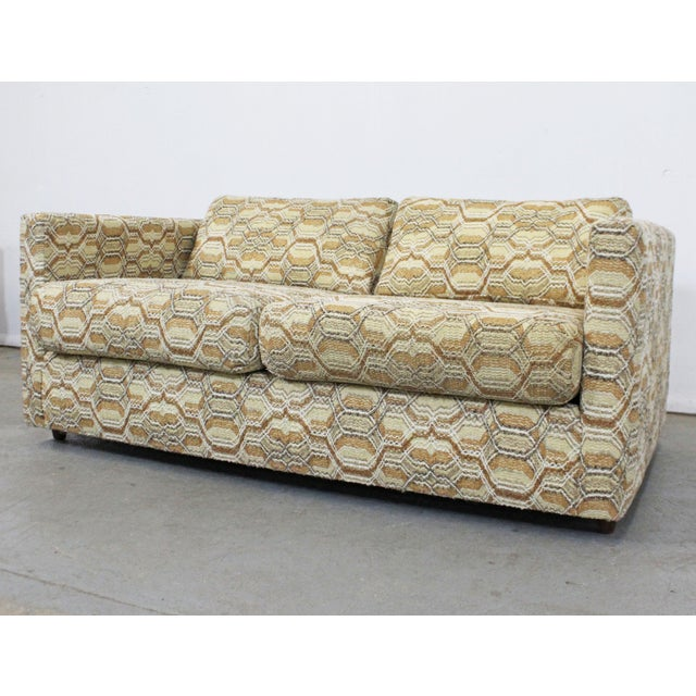 Danish Modern Vintage Mid-Century Modern Lovseat Sofa For Sale - Image 3 of 9