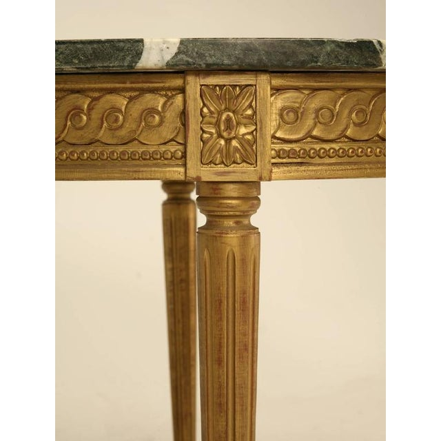 French Louis XVI Style Coffee Table For Sale - Image 5 of 10