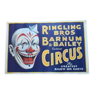 Clown - Ringling Bros and Barnum & Bailey the Greatest Show on Earth For Sale