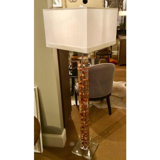 Acrylic Modern Acrylic Floor Lamp For Sale - Image 7 of 7