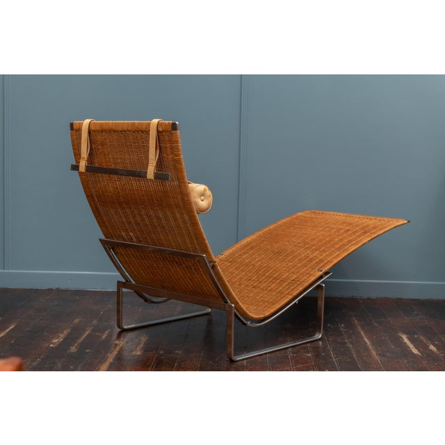 Poul Kjaerholm PK24 Chaise Lounge For Sale - Image 10 of 13