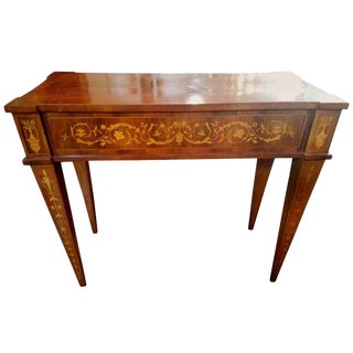 1940s Neoclassical Magolini Design Entry Table For Sale