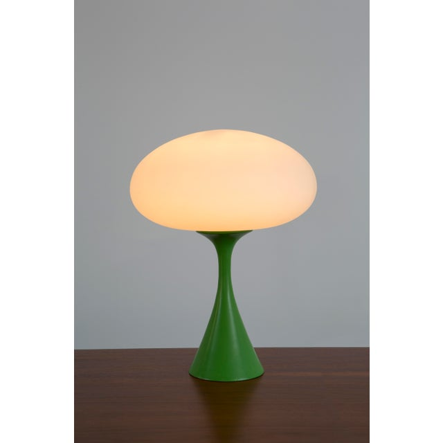 Rare Green Laurel Mushroom Lamp - Image 6 of 6