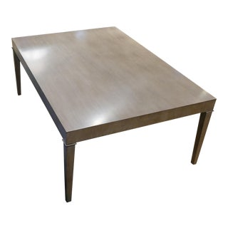Smoked Ash Cocktail Table For Sale