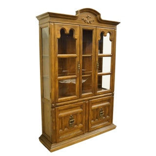 """20th Century Italian Keller Furniture 52"""" Display China Cabinet Preview"""