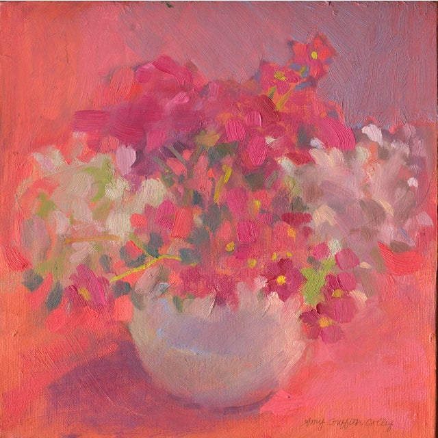 """Boho Chic Amy Griffith Colley """"Anenomes"""" Print For Sale - Image 3 of 3"""