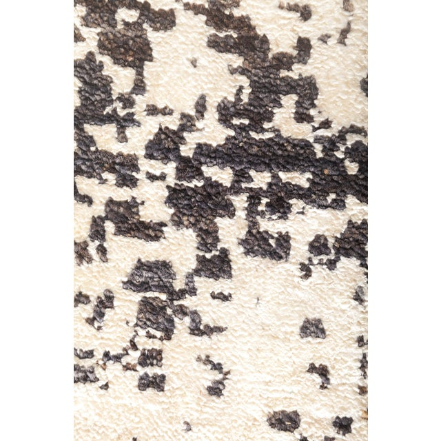 """Modern Eclectic Hand Knotted Area Rug - 6' 4"""" X 8' 10"""" For Sale - Image 3 of 4"""